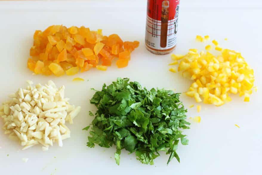 Moroccan Veggie Burgers prep 3