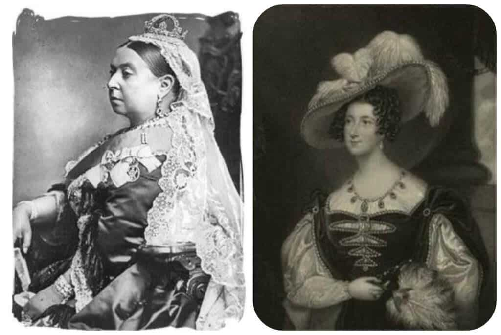 Queen Victoria and Anna Dutchess of Bedford