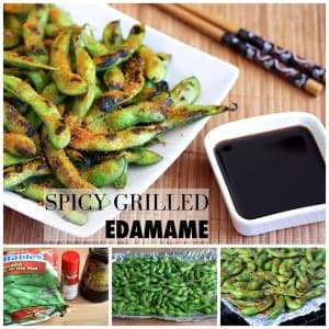 Spicy Grilled Edamame
