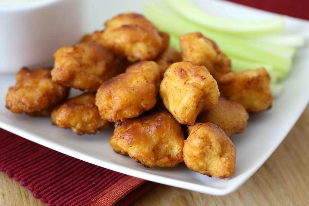 Buffalo Popcorn Chicken - The Daring Gourmet