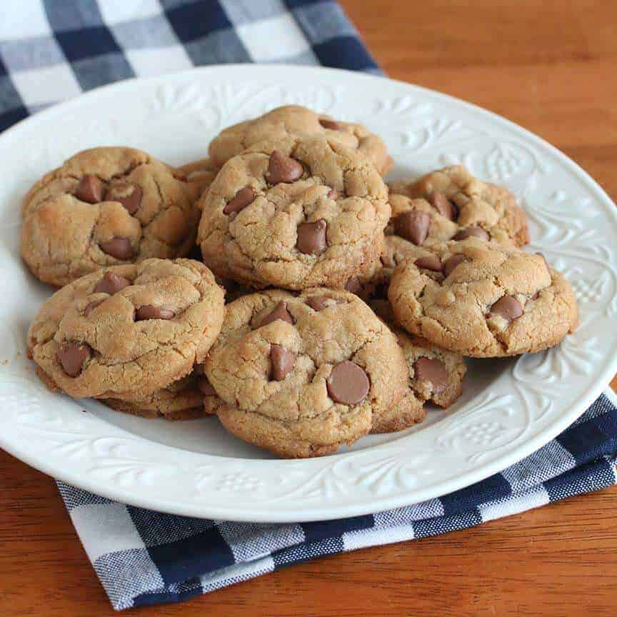 gluten free chocolate chip cookies recipe coconut oil brown rice flour