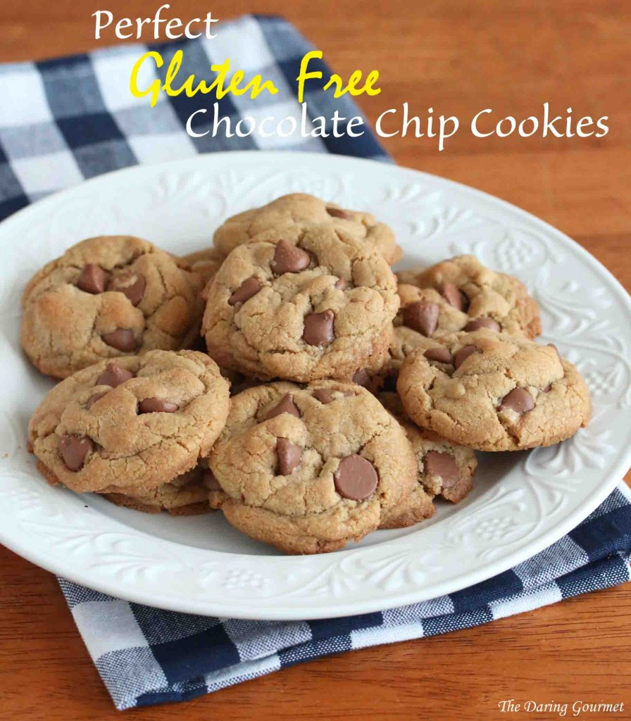 Perfect Gluten Free Chocolate Chip Cookies - The Daring Gourmet