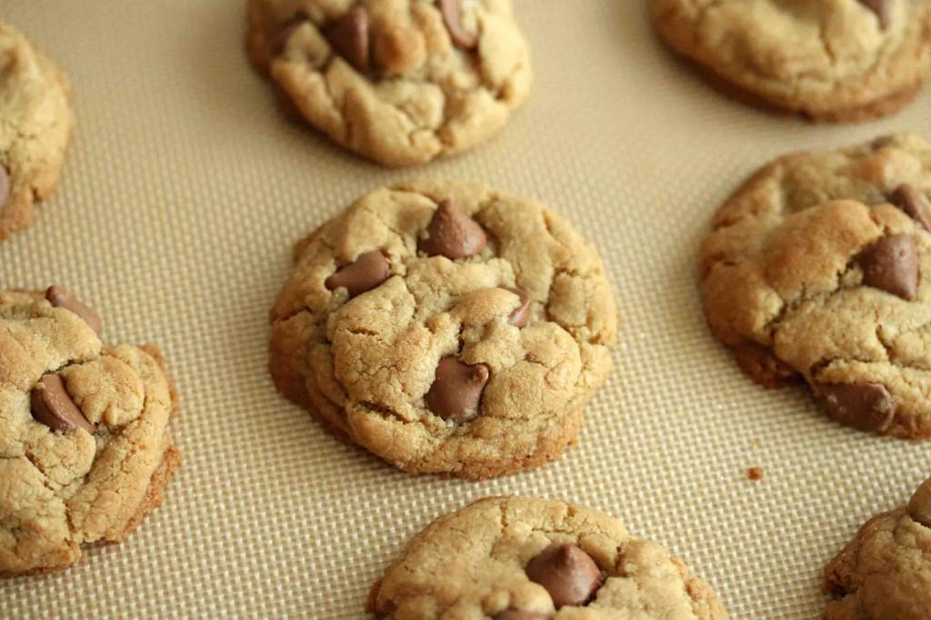 Chocolate Chip Cookies GF prep 10