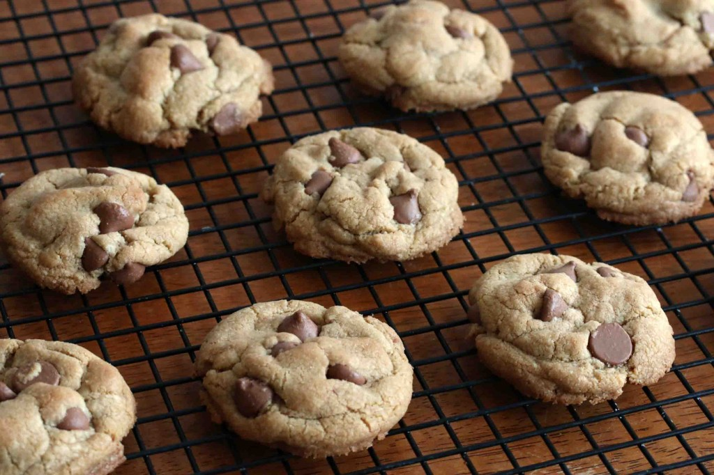 Chocolate Chip Cookies GF prep 12