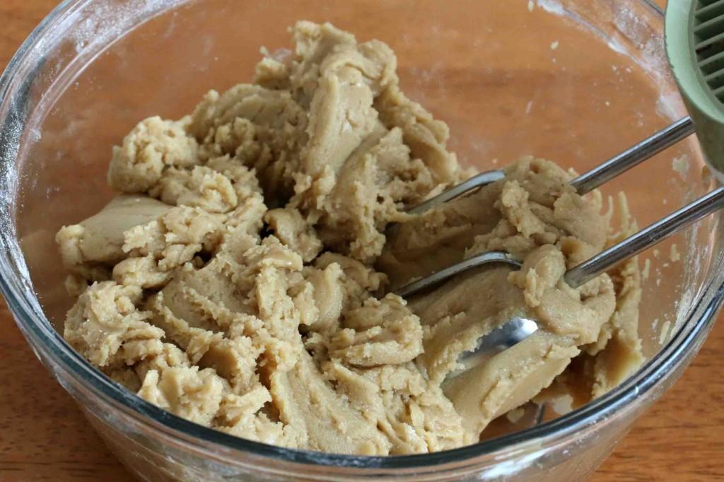 Chocolate Chip Cookies GF prep 5