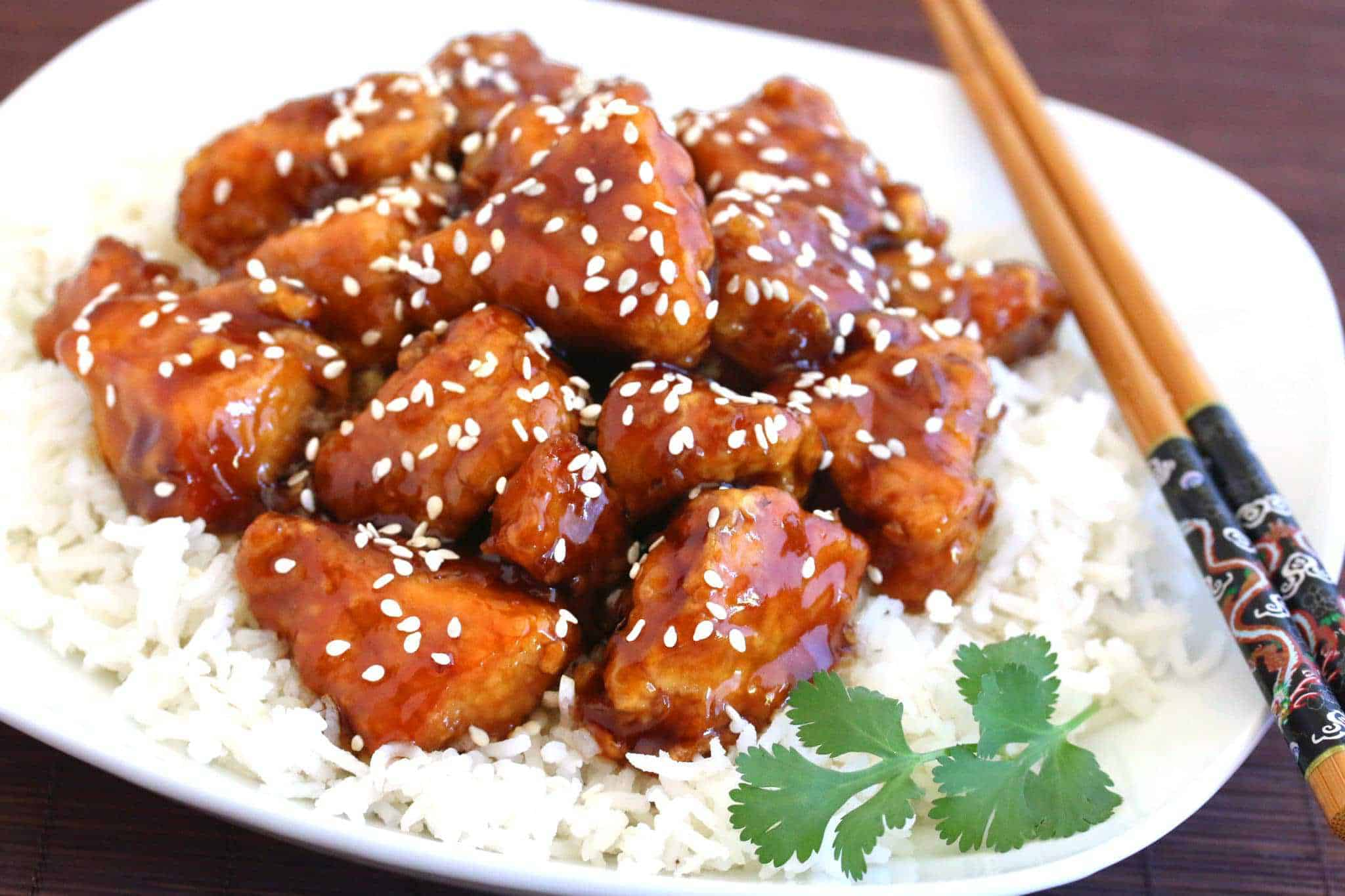Sesame Chicken The Daring Gourmet