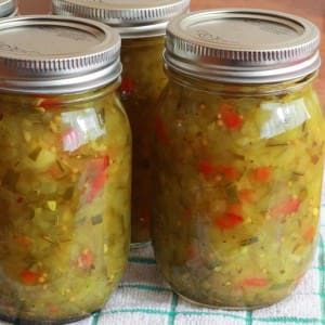 Easy Homemade Dill Pickle Relish