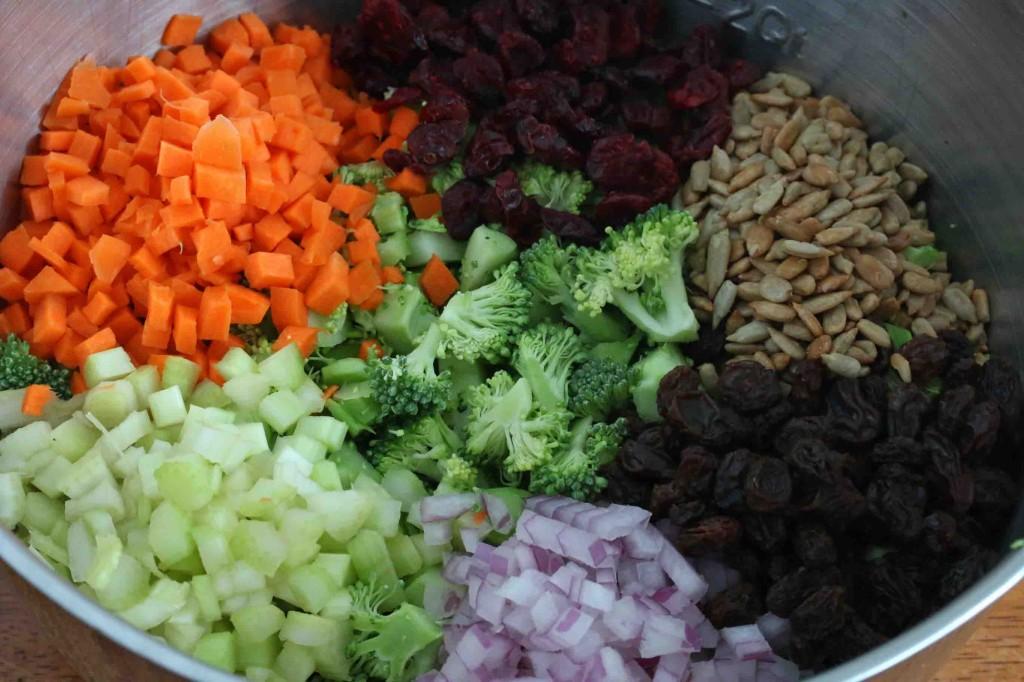 Broccoli Salad prep 6