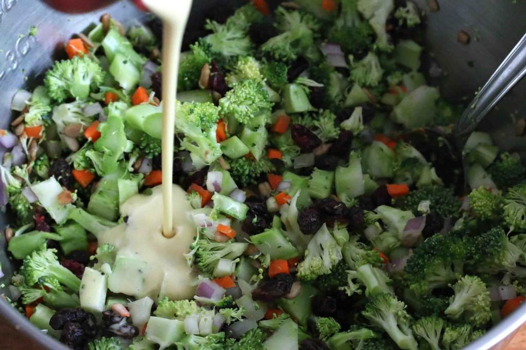 Broccoli Salad prep 7