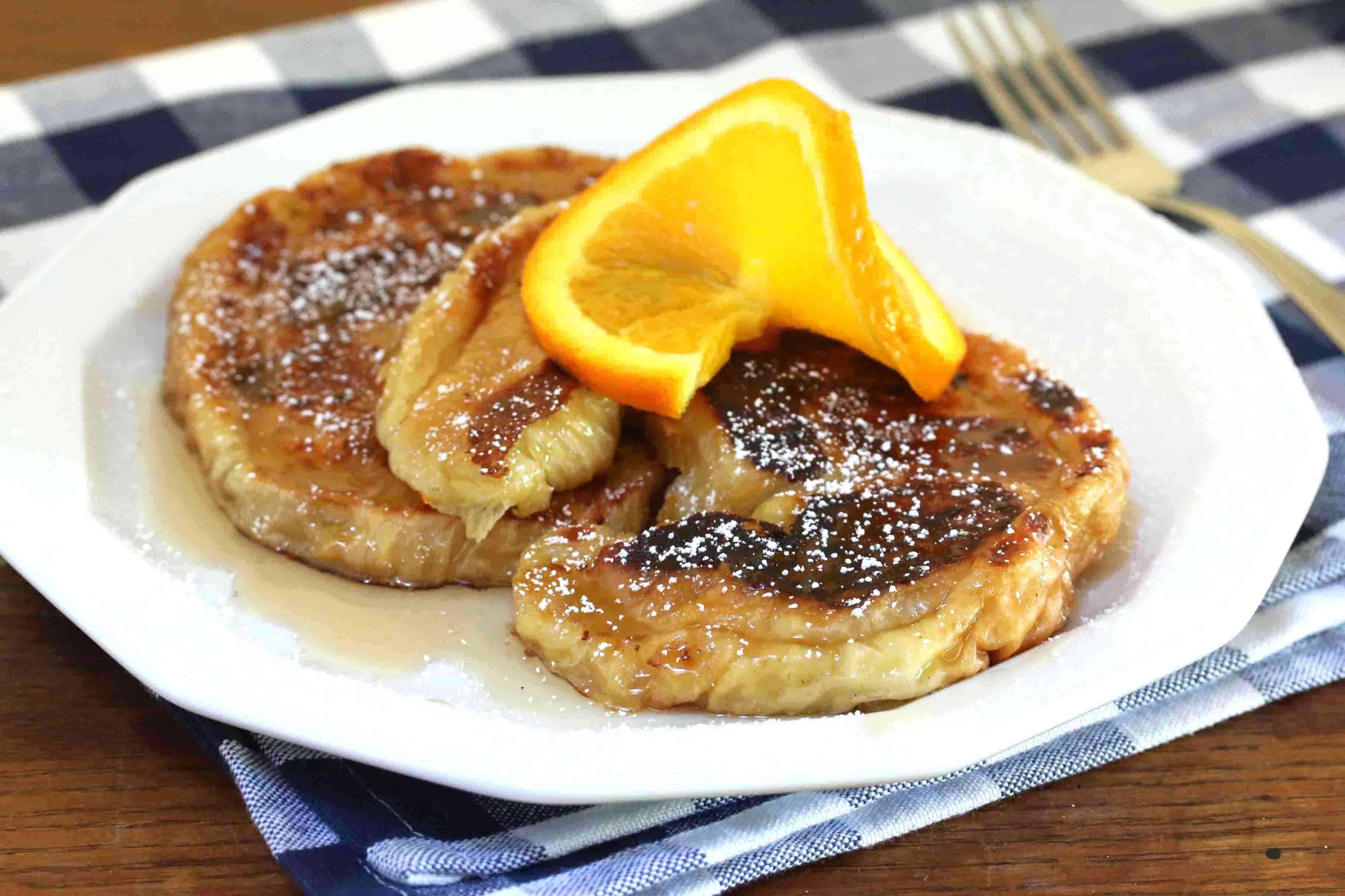 Orange Butter Croissant French Toast (+ Taste of Washington Cookbook ...