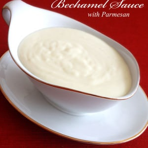 bechamel sauce parmesan cheese recipe