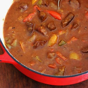 Beef and Pepper Stew