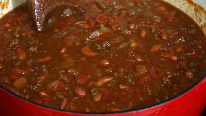 Chili in a Pumpkin prep 11