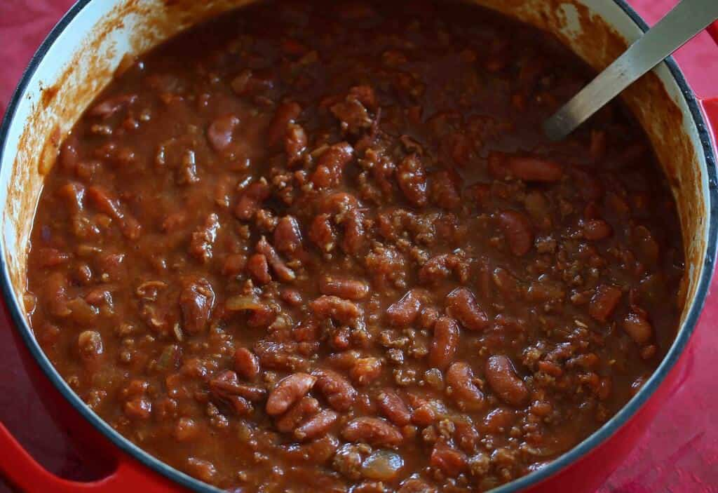 Chili in a Pumpkin prep 12