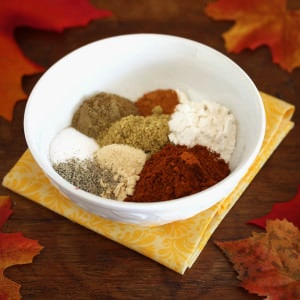 homemade chili taco seasoning mix recipe