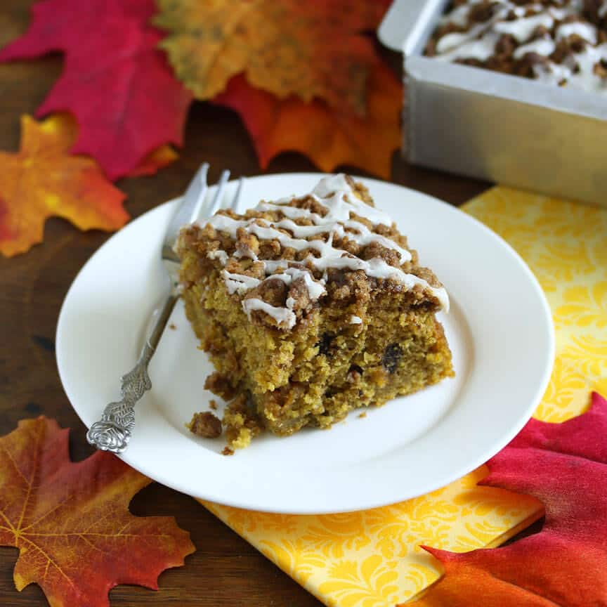 chocolate butterscotch pumpkin streusel cake recipe crumb