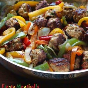 Fiesta Meatballs