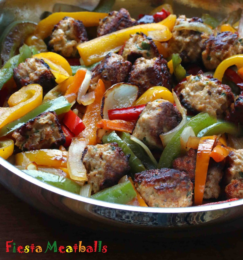 mexican meatballs recipe chipotles cilantro chili powder bell peppers