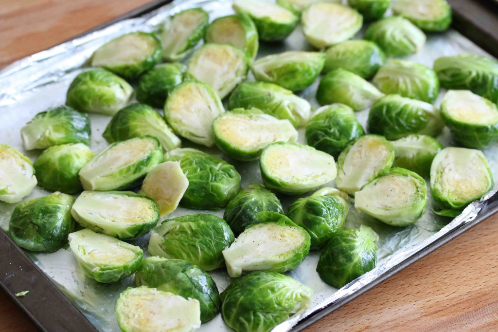 Balsamic Brussels Sprouts prep 1