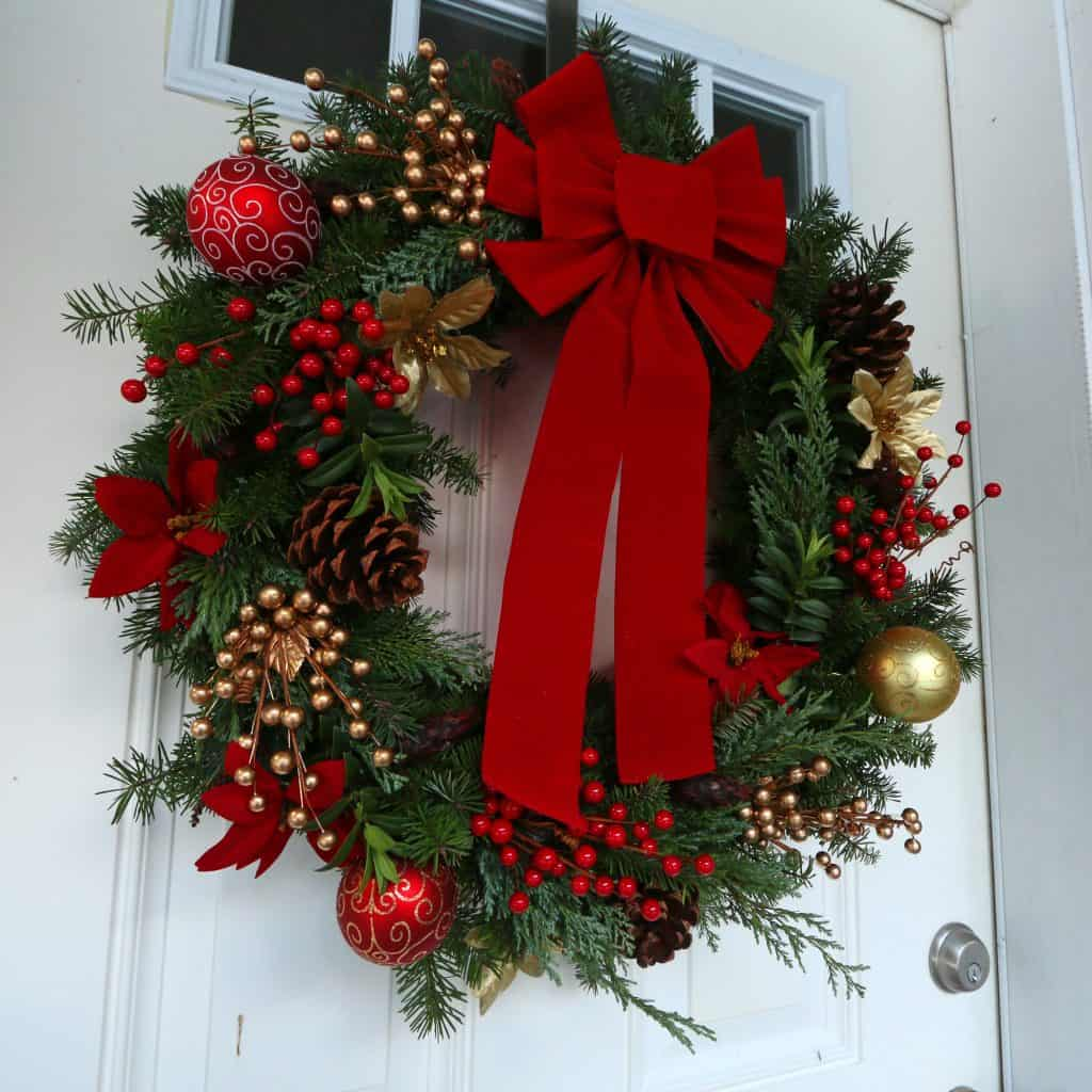 How To Make A Gourmet Homemade Christmas Wreath amp Simple