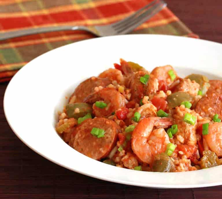 traditional new orleans jambalaya recipe chicken sausage shrimp