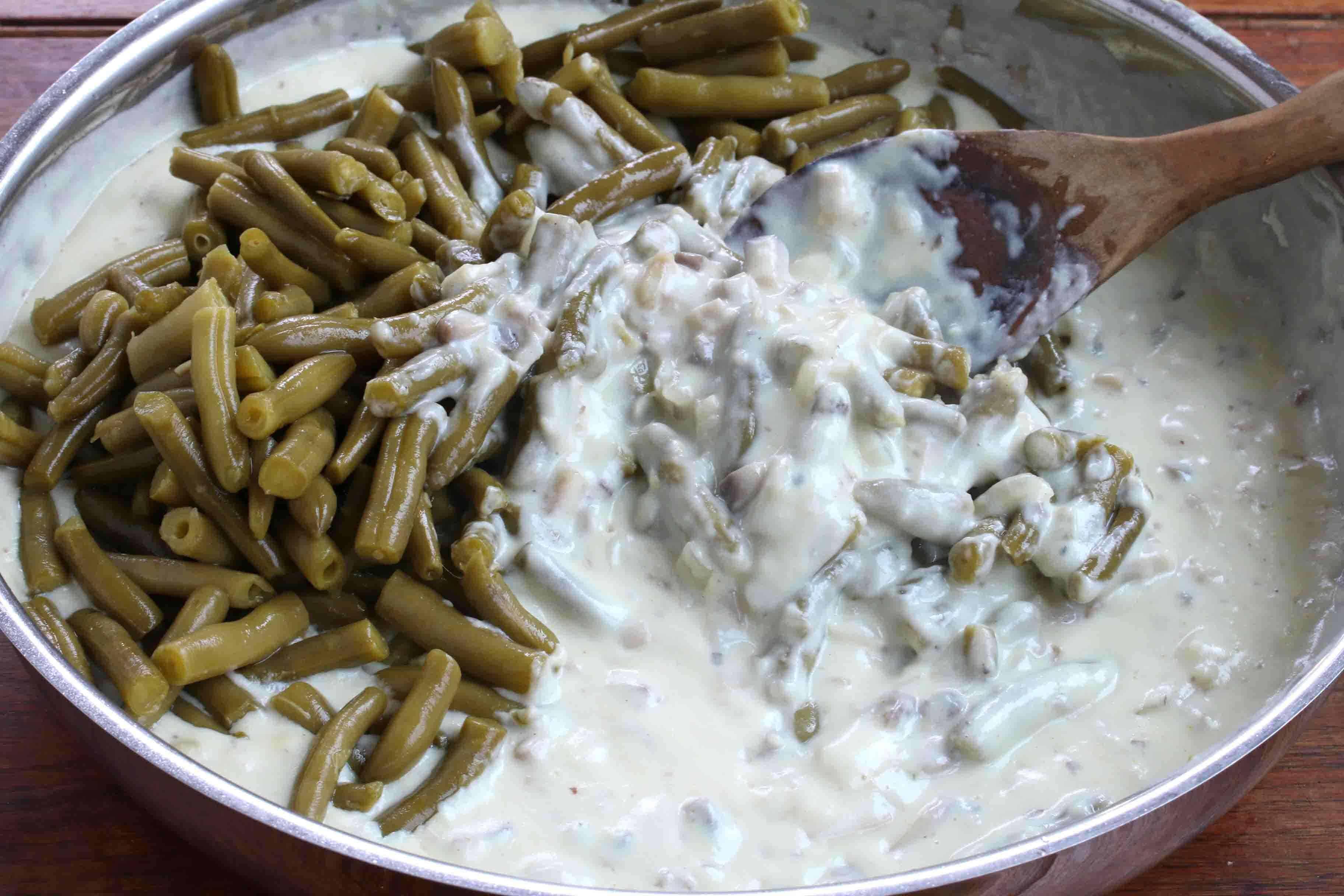 Del Monte Green Bean Casserole prep 11 sm