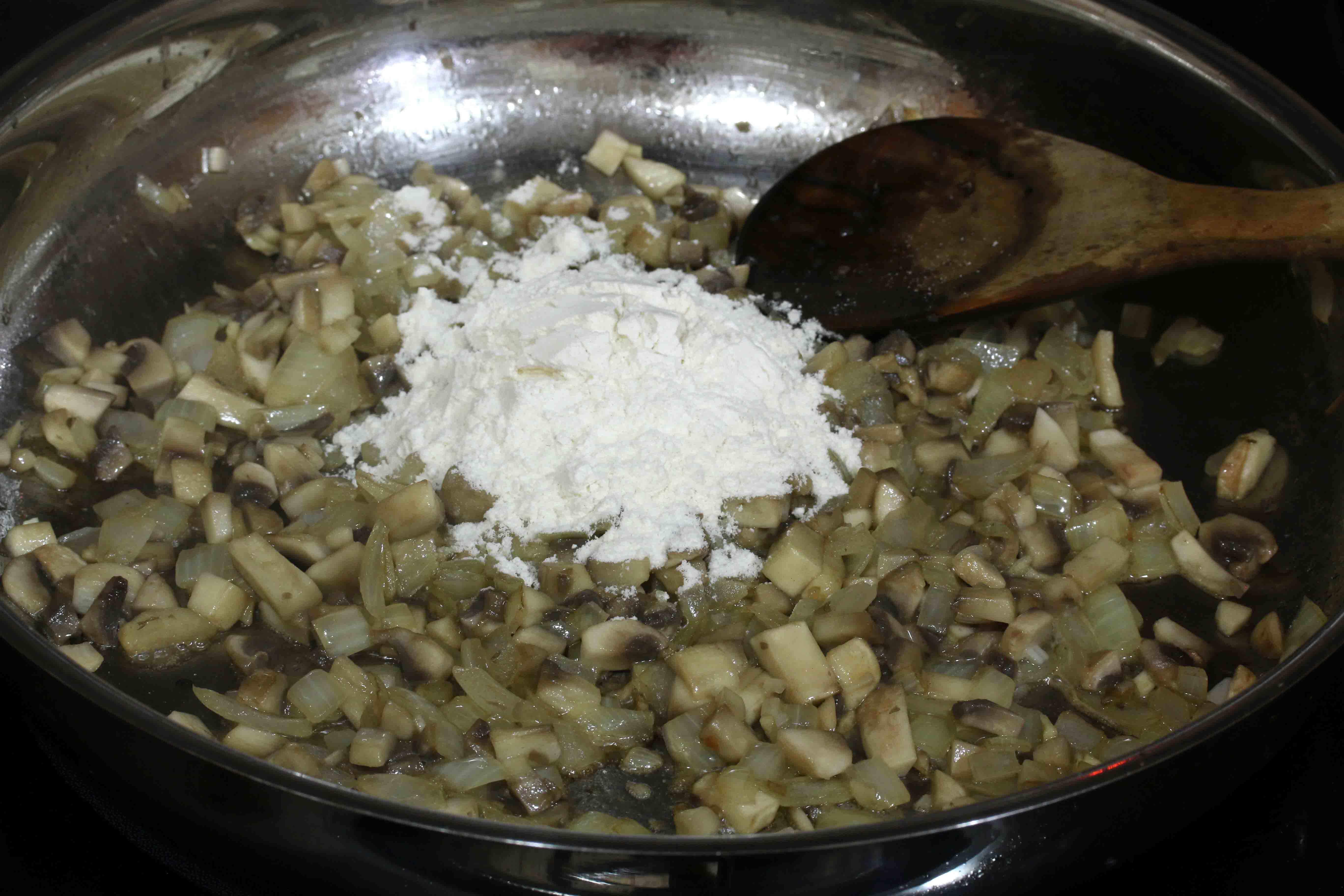 Del Monte Green Bean Casserole prep 5 sm