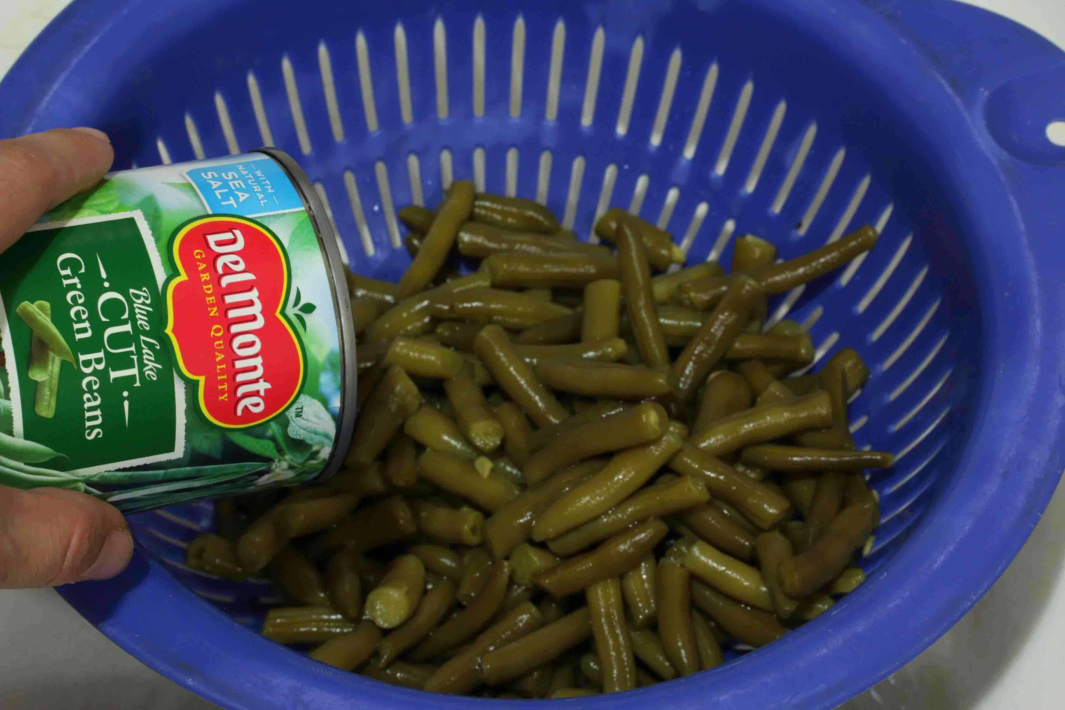Del Monte Green Bean Casserole prep 8 sm