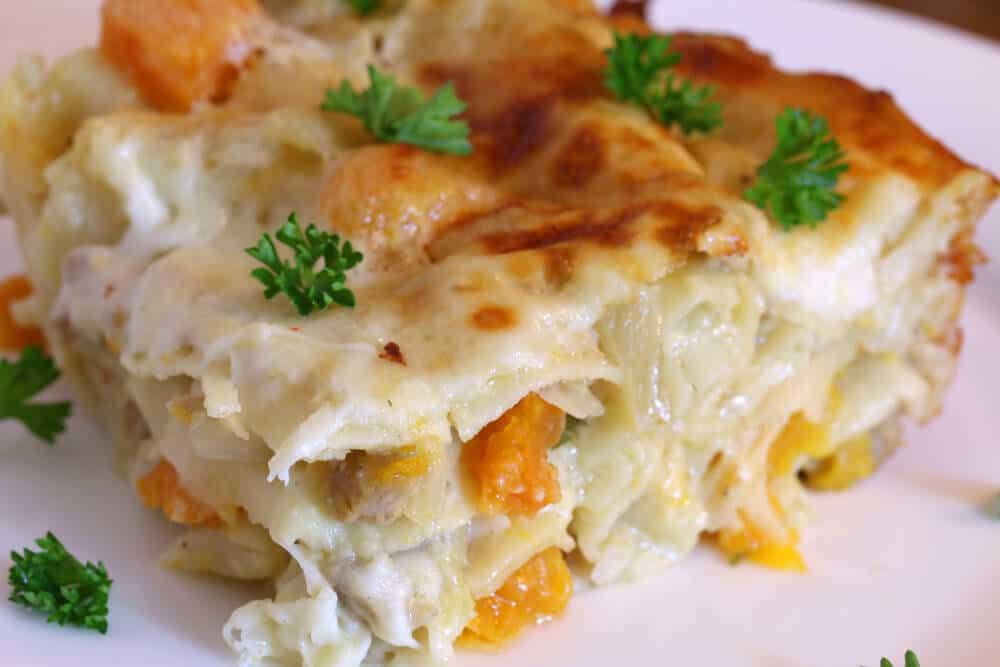 sausage fennel butternut squash lasagna recipe
