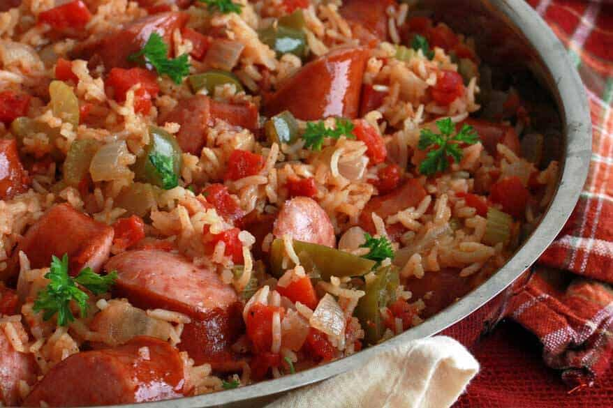 Slow Cooker Jambalaya - The Daring Gourmet