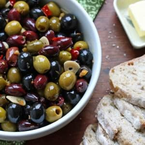 Gourmet Marinated Olives