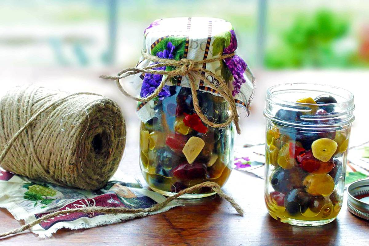 marinated olives recipe marinade how to homemade entertaining gifts