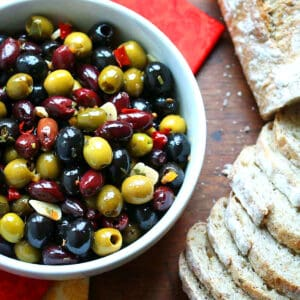 marinated olives recipe marinade homemade easy entertaining gifts
