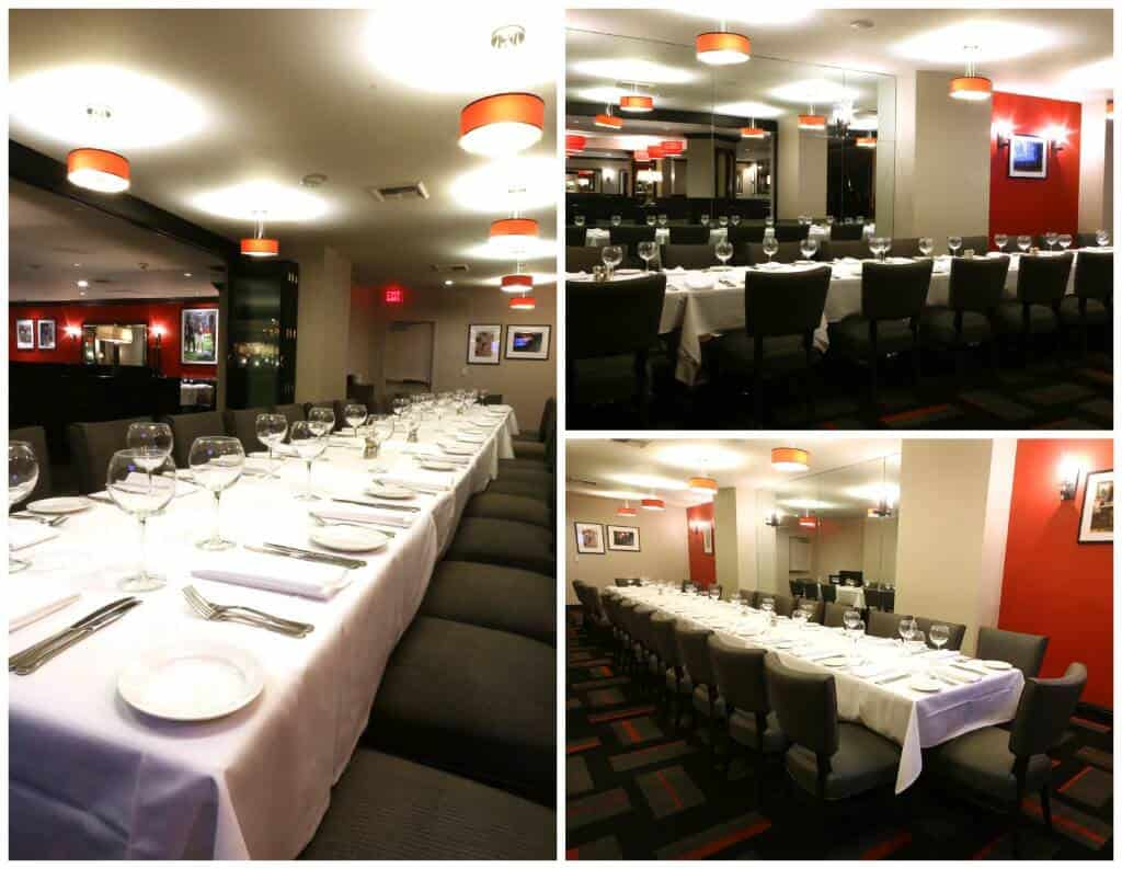 Paparazzi Private Dining Collage 1