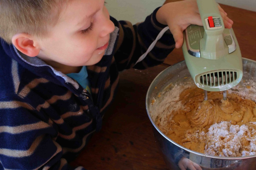 Pumpkin Eggnog Cake prep 11