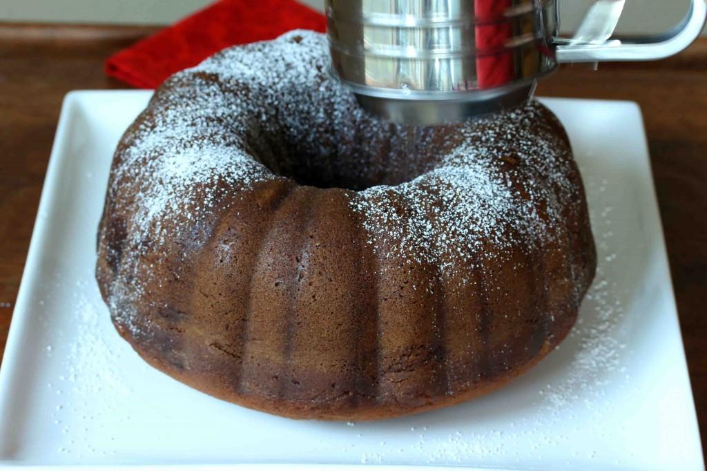 Pumpkin Eggnog Cake prep 22