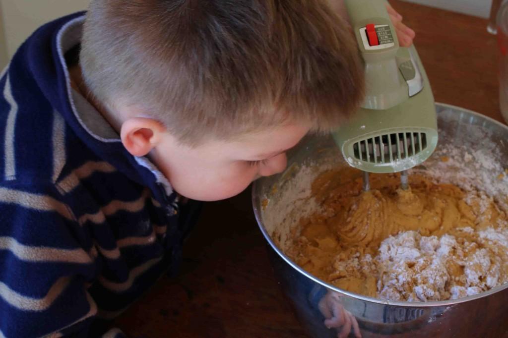 Pumpkin Eggnog Cake prep 8