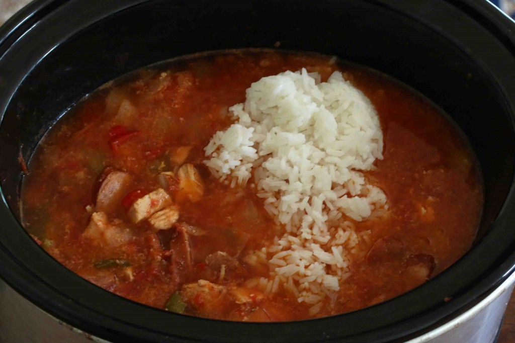 Slow Cooker Jambalaya prep 4