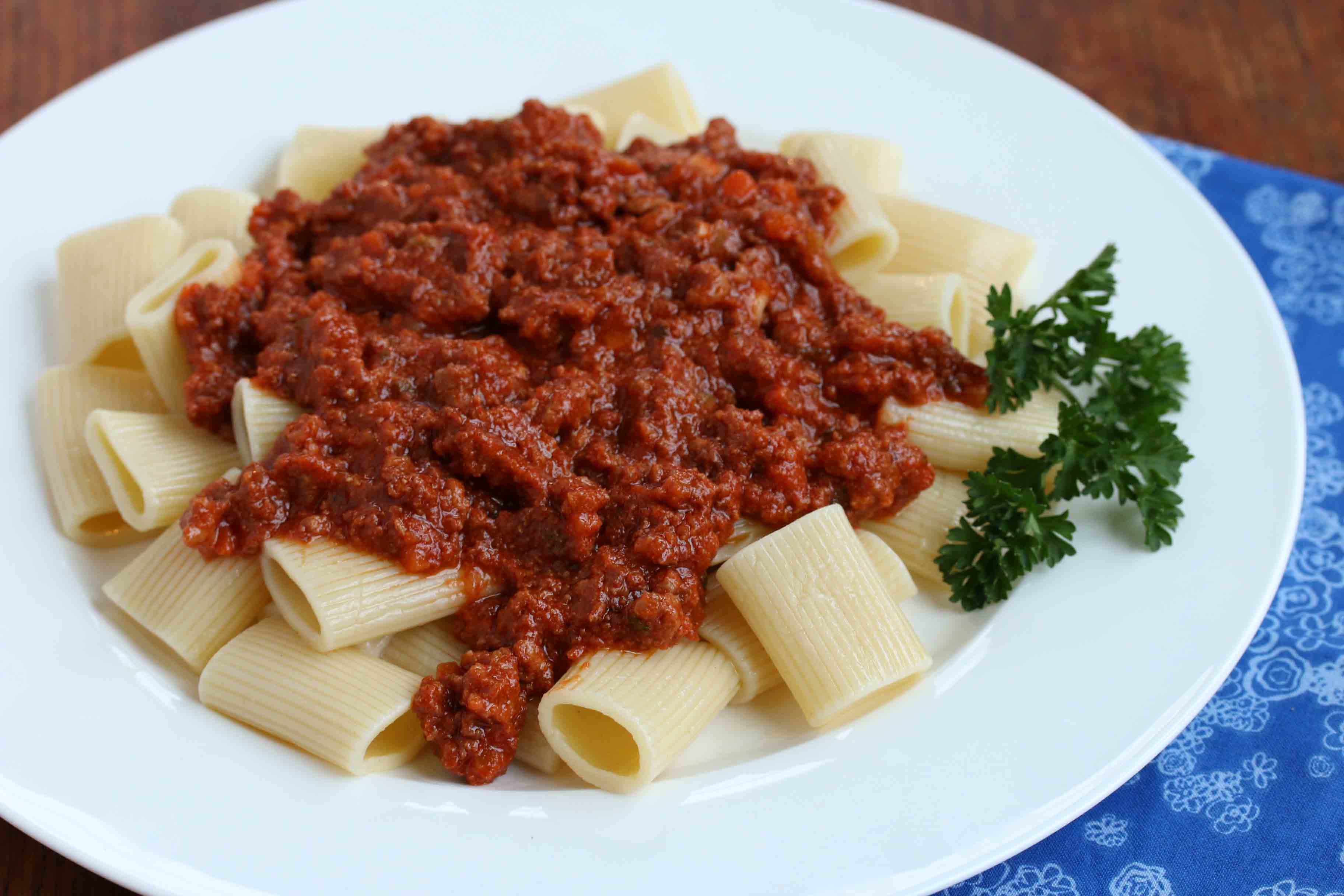 Veal Bolognese 1