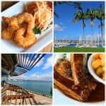 The Daring Gourmet Dines Out:  Bali Hai Restaurant, Shelter Island, San Diego, California