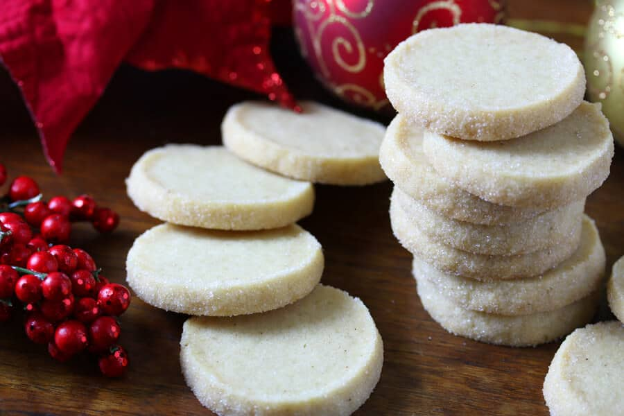 Heidesand Traditional German Browned Butter Shortbread