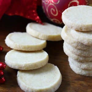 Heidesand (Traditional German Browned Butter Shortbread Cookies)