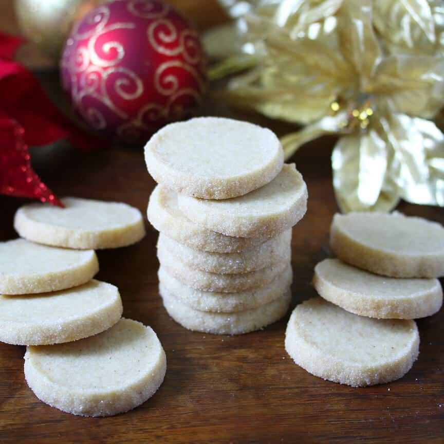 Heidesand (Traditional German Browned Butter Shortbread