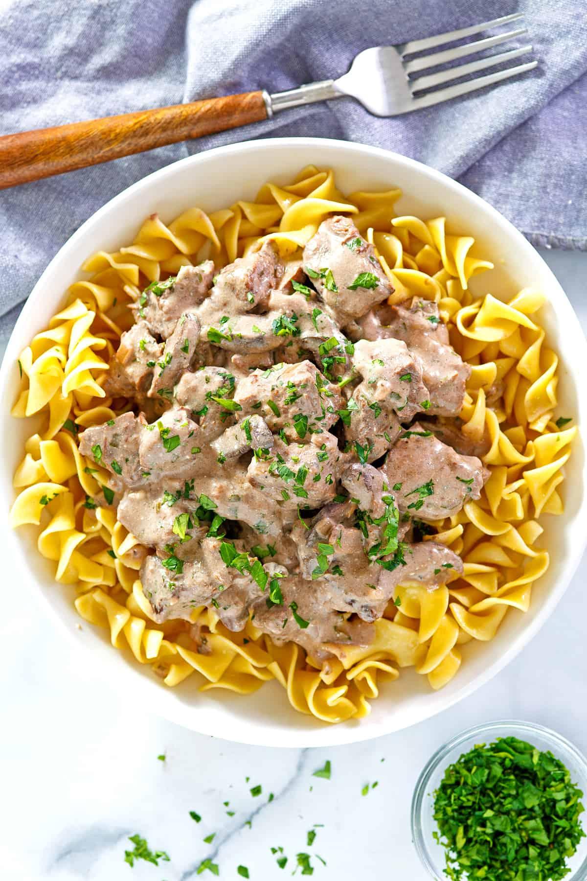 crock pot beef stroganoff recipe slow cooker best from scratch
