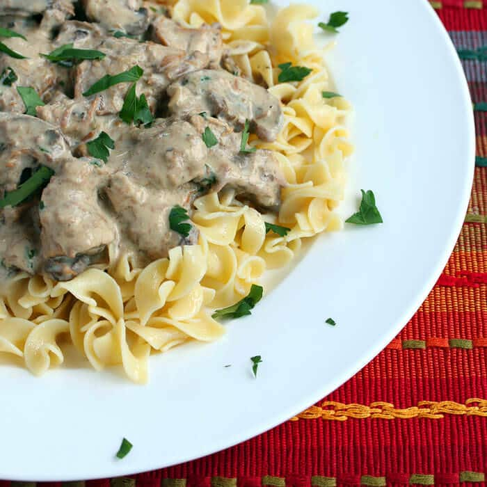 slow cooker beef stroganoff recipe crock pot easy best