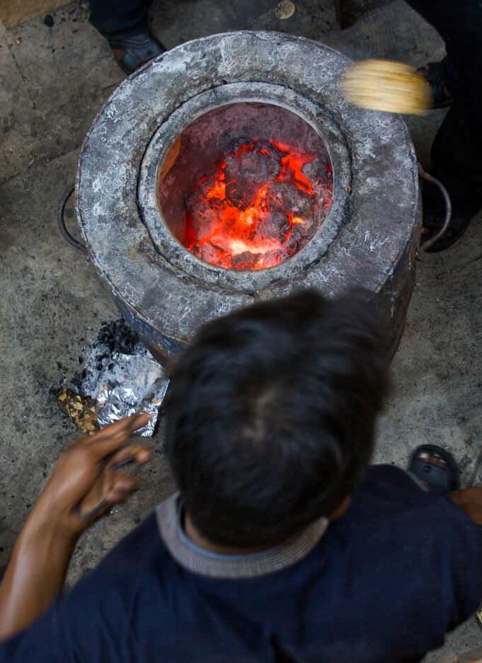 Indian tandoor oven