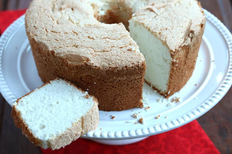 Grease Pan For Angel Food Cake