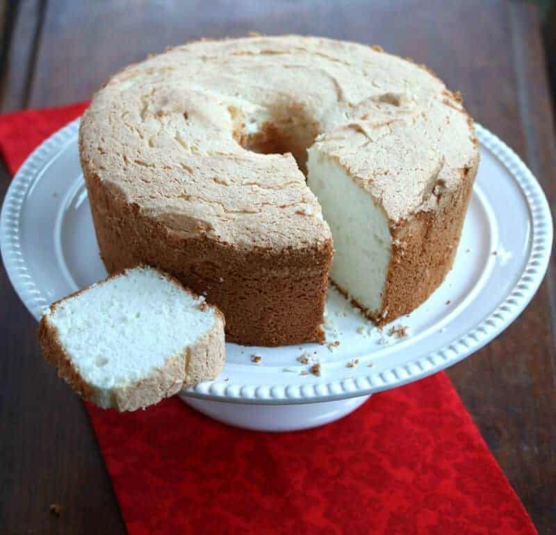 Classic angel food cake the daring gourmet angel food cake 8 forumfinder Image collections