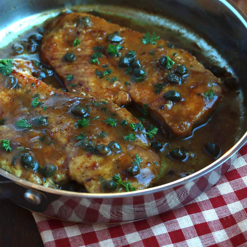 chicken piccata recipe capers wine best traditional easy