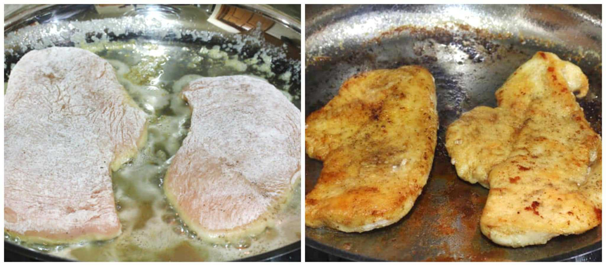 frying chicken breast